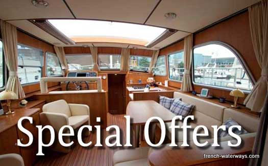 canal boats France offers