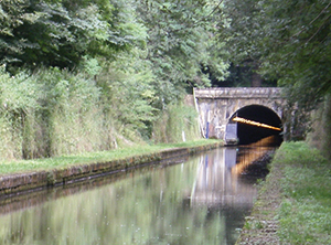 Canal entre Champagne Bourgogne Tunnel