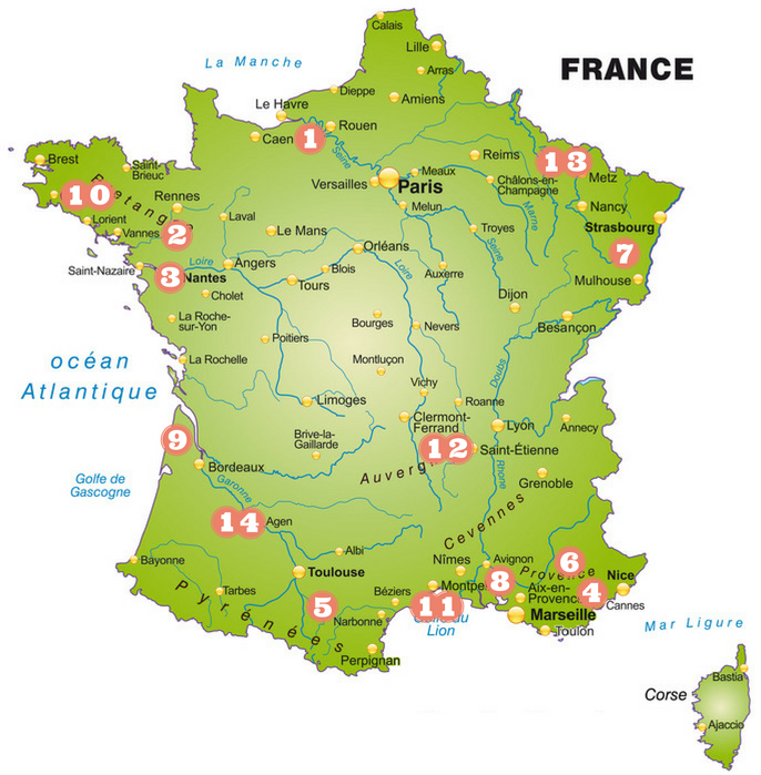 France - August events