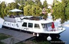 Vetus 12m river motor boat for sale