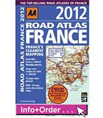 AA Road Atlas France