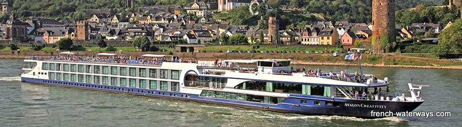 Avalon Creativity river cruise ship