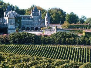 Vineyards of Bordeaux and Medoc