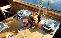 barge hotel sailing bookings