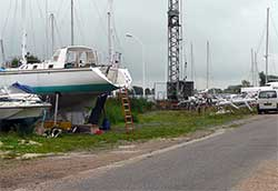 Boatyard, Canal de Tancarville