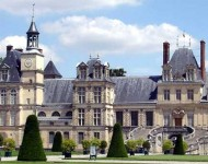 Palace of Fontainebleu, Yonne/Loire