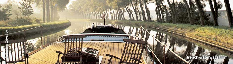 © Golden Odyssey luxury hotel barge charter bespoke cruises