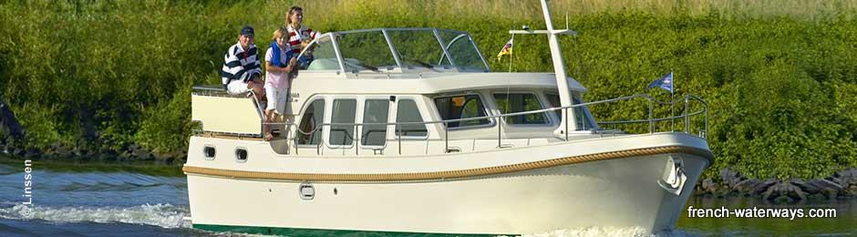 Hire boat holiday in France