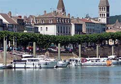 Tournus, River Saone