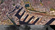 Dunkerque port and canals