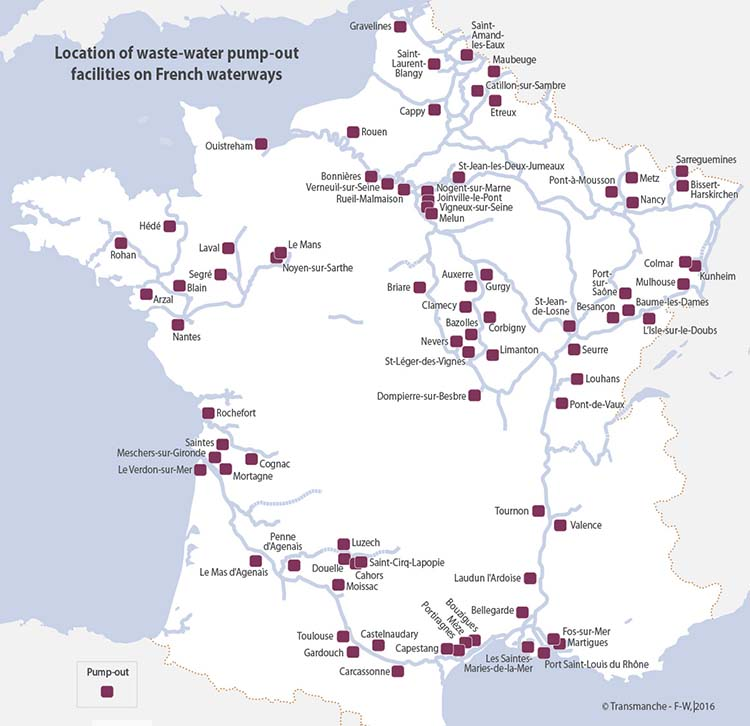 pump-out french waterways