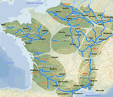 French Waterways Regions