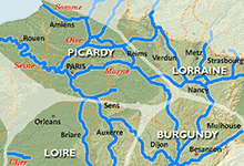 Picardy and Lorraine Regions