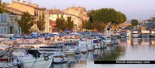 Beaucaire, Canal Rhone a Sete