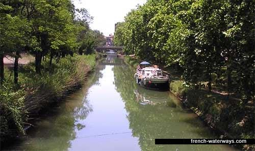 Canal Midi - Herault, Agde