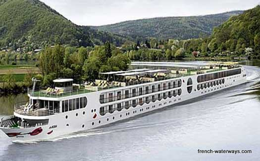 River cruise ship France