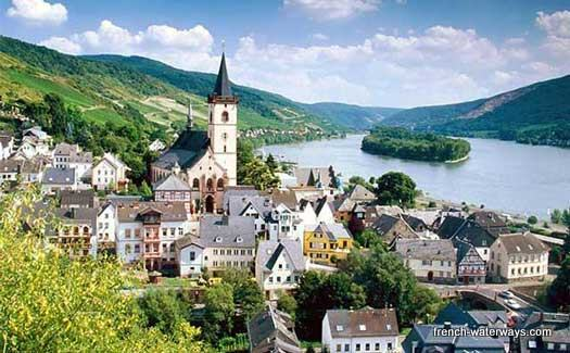 River cruise Rhine Lorch