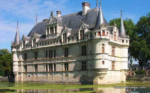 Riverboat cruise France rivers Loire