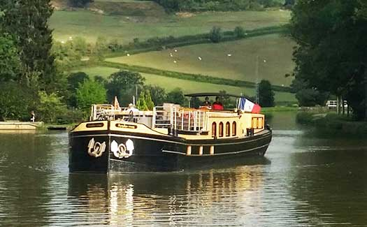 France waterways luxury hotel barge canal cruises