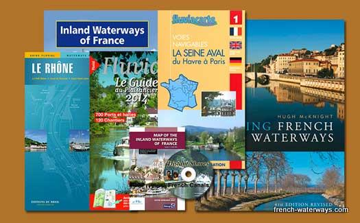 French canals books guides