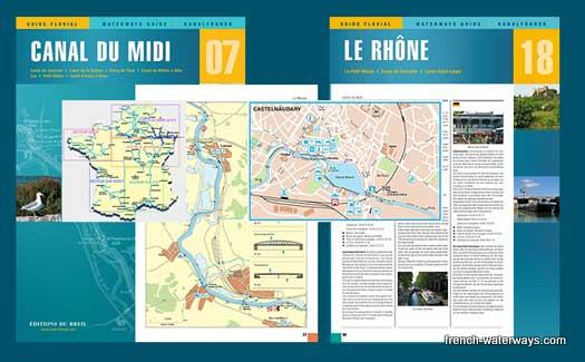 French canal navigation guide Breil