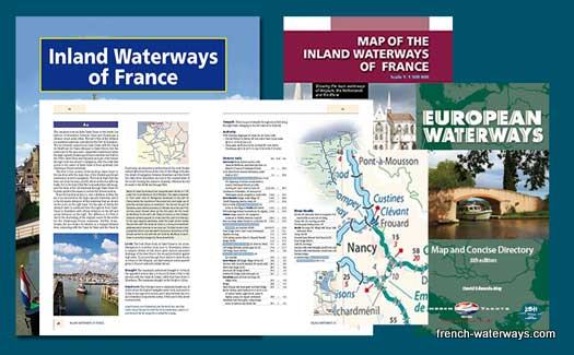 French canal navigation guide Imray