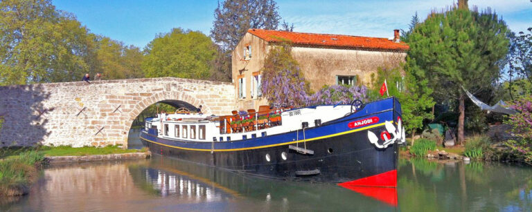 Hotel Barge Anjodi Canal du Midi French Waterways