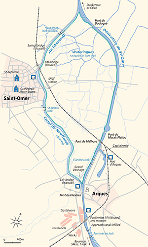 Arques Jonction Plan