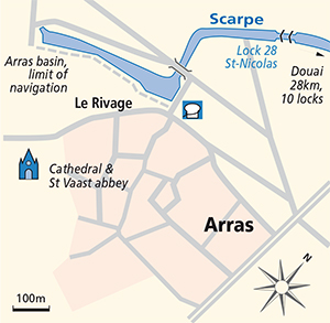 Arras junction plan