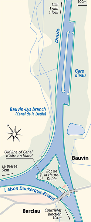 Bauvin junction plan deule