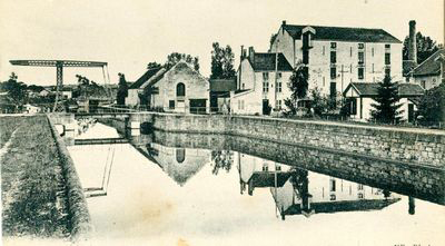 Canal entre Champagne et Bourgogne history
