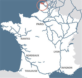 Map Of France Calais.Calais Canal Detailed Navigation Guides And Maps French Waterways