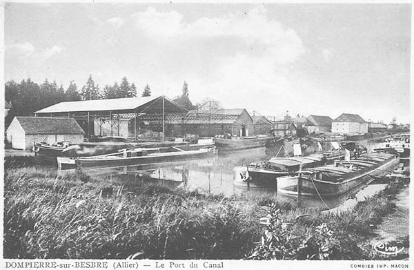 Dompierre port - early 20th century