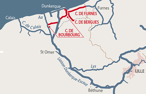 Dunkerque and Canals frenchwaterwayscom