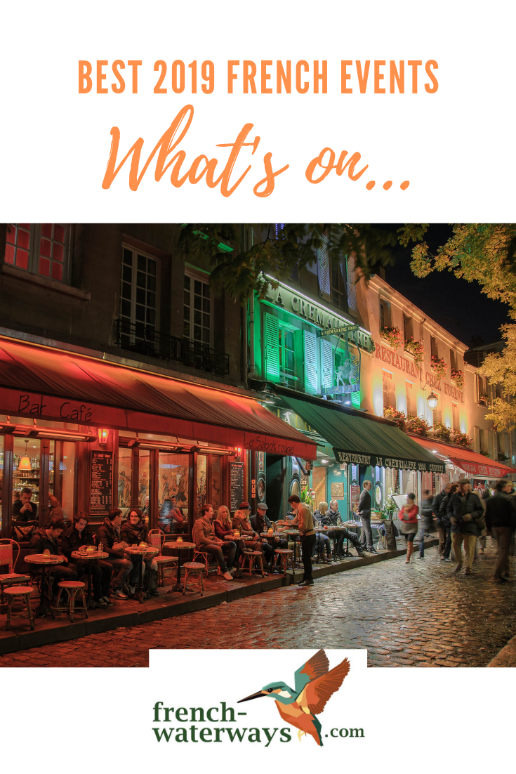 Just about every corner of France has something big going on during the year. So it isn't as easy as it sounds to put together a list of the best events! We've scoured the diaries and checked the centenaries to come up with some great suggestions though. Read on to discover our pick of the ten best 2019 events in France. All you have to do is plan your holiday around your favourite(s).