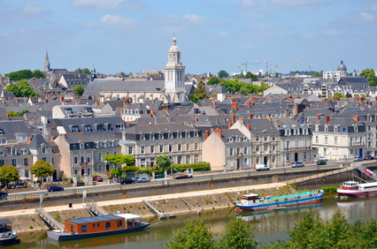 Angers in family friendly Anjou
