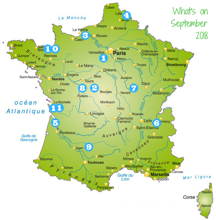 Events in September - 11 must-do activities in France this year | French Waterways