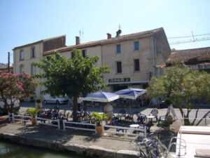 Hotel barge Alouette Canal du Midi