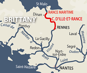 Canal dIlleetRance and Rance Maritime frenchwaterwayscom