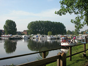Boat harbour Lys Armentieres-LSF