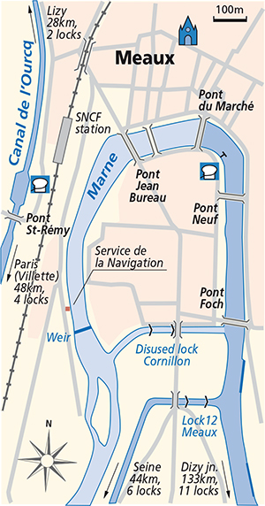 Junction Plan Meaux Marne
