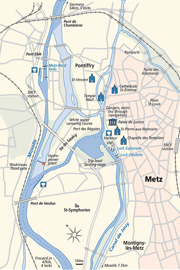 Junction Plan Metz