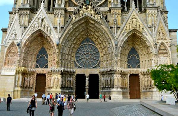 Reims Cathedral Aslaug Champagne