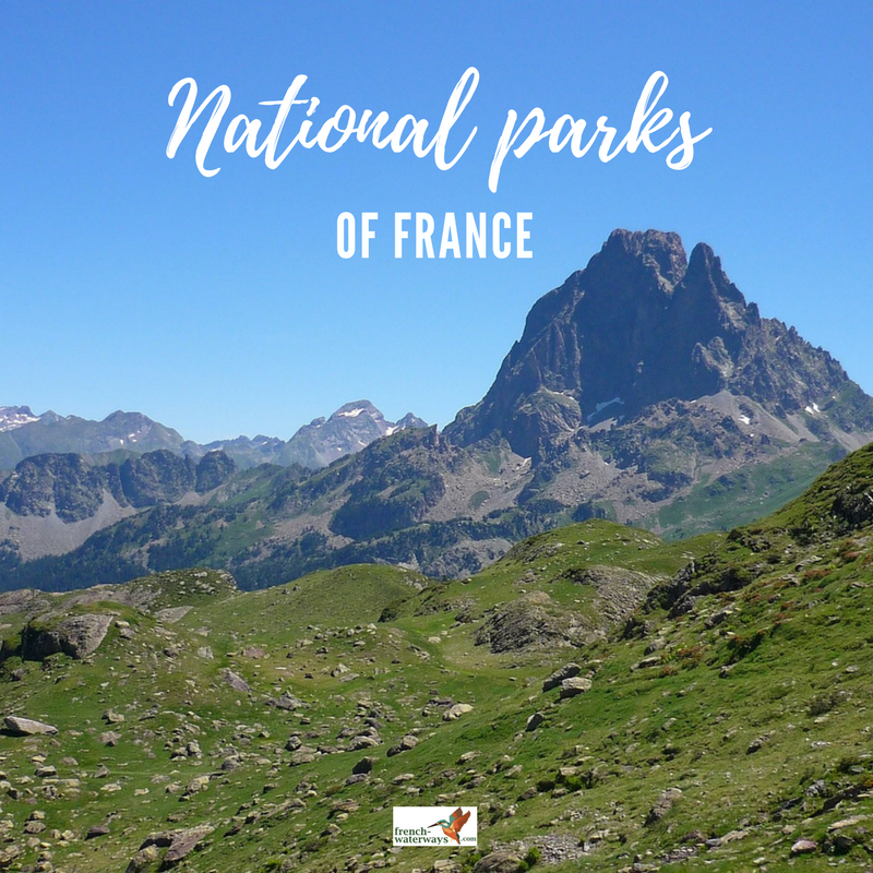 national parks in France