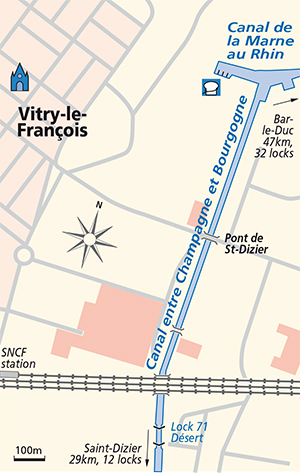 Vitry-le-Francois Jonction Plan