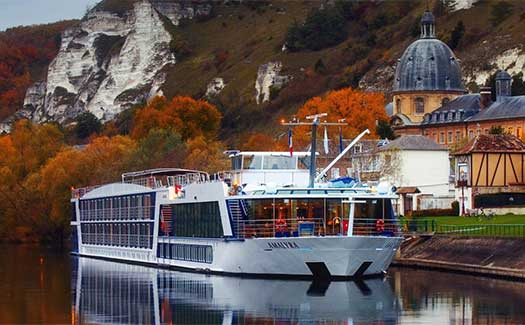 Riverboat cruise France rivers AmaWaterways
