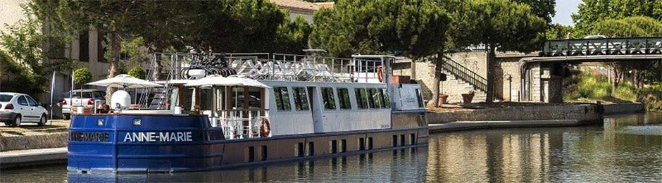 hotel barge anne-marie france