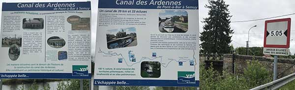 VNF signs Ardennes