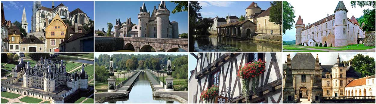 Cruise France rivers canals Burgundy Loire Nivernais