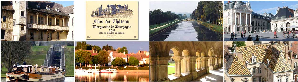 Cruise France rivers canals Burgundy Dijon Saone